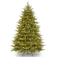 9-ft. Pre-Lit ''Feel-Real'' Nordic Spruce Artificial Christmas Tree