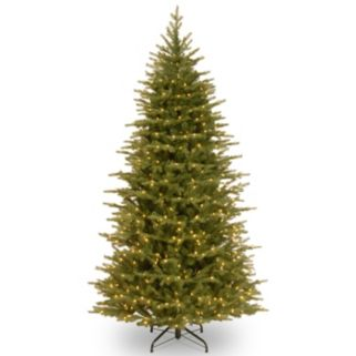 7.5-ft. Pre-Lit LED ''Feel-Real'' Nordic Spruce Christmas Tree