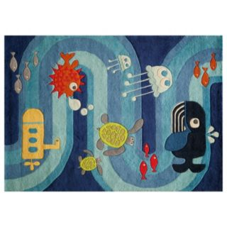 Momeni Lil Mo Whimsy Ocean Life Rug