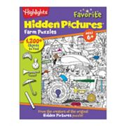 Levy Highlights Farm Hidden Pictures Activity Book