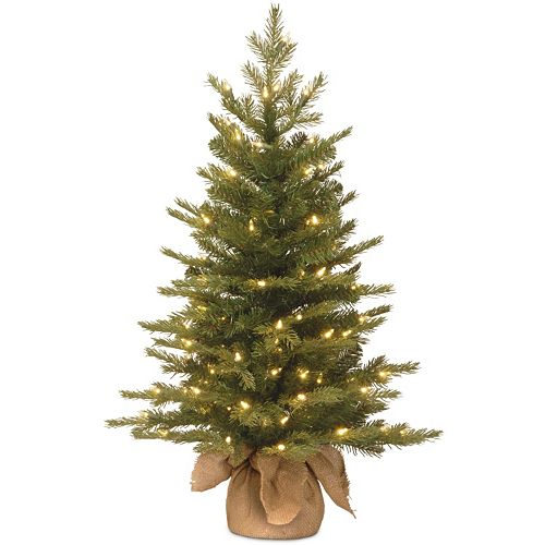 3 ft pre lit multicolor led kingswood fir pencil artificial christmas tree 2 sale - 3 Ft Pre Lit Christmas Tree