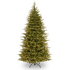 7.5-ft. Pre-Lit Multicolor LED ''Feel-Real'' Nordic Spruce Christmas Tree