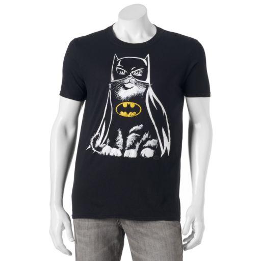 Men's DC Comics Batman Cat Tee