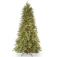7.5-ft. Pre-Lit ''Feel-Real'' Tiffany Fir Artificial Christmas Tree