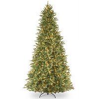 9-ft. Pre-Lit ''Feel-Real'' Tiffany Fir Artificial Christmas Tree
