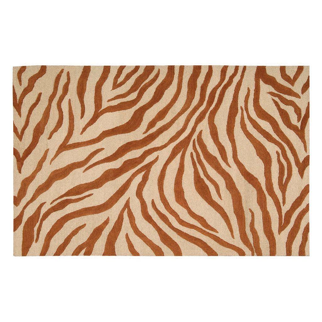 Skyland Zebra Wool Rug