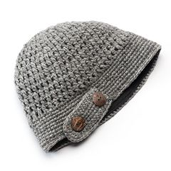 SIJJL Women's Wool Cloche Beanie