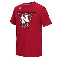 Men's adidas Nebraska Cornhuskers Net Web Tee