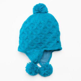 SIJJL Women's Crocket Wool Trapper Hat