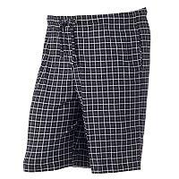 Big & Tall Croft & Barrow® Patterned Knit Jams Shorts