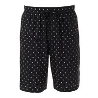 Big & Tall Croft & Barrow® Patterned Knit Jams Shorts