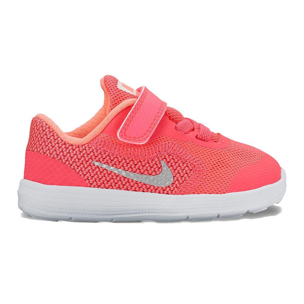Nike Revolution 3 Toddler Girls Athletic Shoes