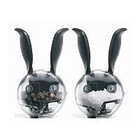 Chef'n Mini Magnetic Rabbit 2 pc Salt & Pepper Grinder Set