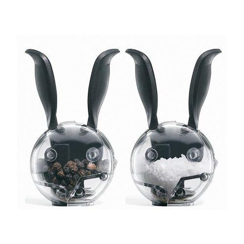 Chef'n Mini Magnetic Rabbit 2-pc. Salt & Pepper Grinder Set