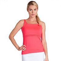Women's Tail Coral Glam Daria Square Neck Tennis Tank