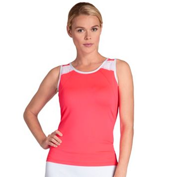 Women's Tail Coral Glam Tressa Crewneck Tennis Tank