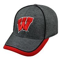 Adult Top of the World Wisconsin Badgers Memory Fit Cap