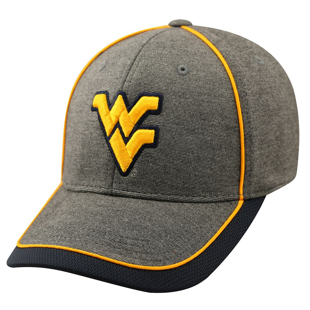 Adult Top of the World West Virginia Mountaineers Memory Fit Cap