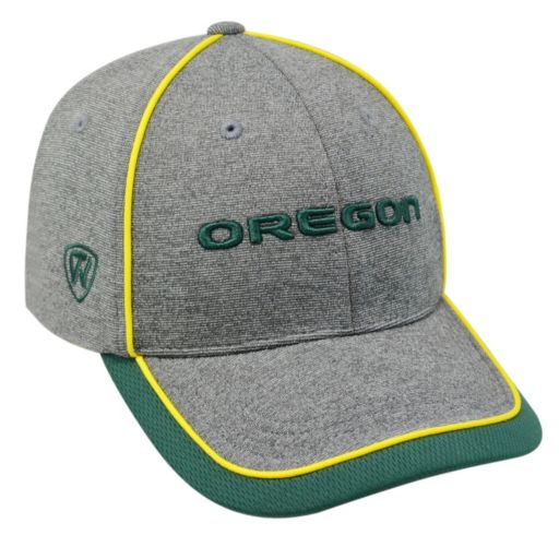 Adult Top of the World Oregon Ducks Memory Fit Cap
