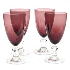Certified International 4 pc All-Purpose Goblet Set