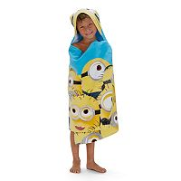 Mega Minions Hooded Towel Wrap