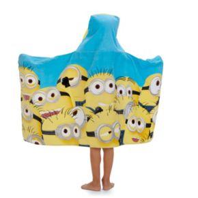 Mega Minions Hooded Towel Wrap
