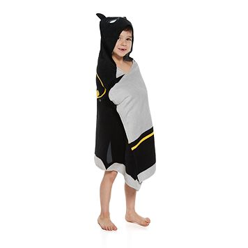 Batman Hooded Towel Wrap