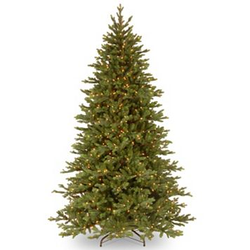 7.5-ft. Pre-Lit ''Feel-Real'' Yukon Fir Artificial Christmas Tree