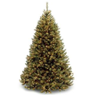 7.5-ft. Pre-Lit Rocky Ridge Pine Artificial Christmas Tree