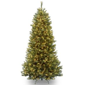 7.5-ft. Pre-Lit Rocky Ridge Pine Artificial Christmas Tree