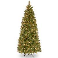 7.5-ft. Pre-Lit Tacoma Pine Artificial Christmas Tree