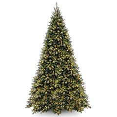 12-ft. Pre-Lit Tiffany Fir Artificial Christmas Tree