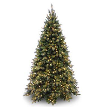 7.5-ft. Pre-Lit Tiffany Fir Artificial Christmas Tree