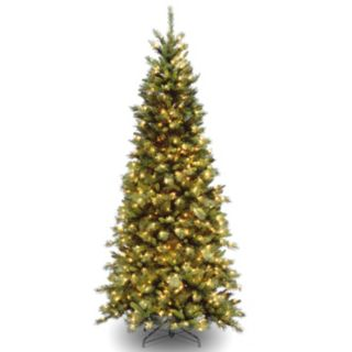 7.5-ft. Pre-Lit Tiffany Fir Artificial Christmas Tree