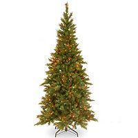 7.5-ft. Pre-Lit Multicolor Tiffany Fir Artificial Christmas Tree