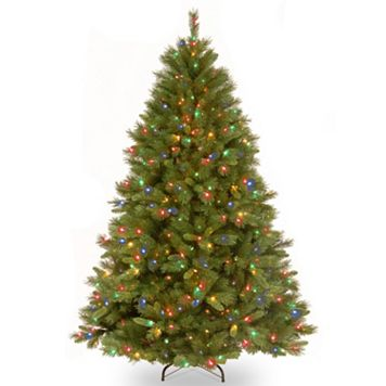 7.5-ft. Pre-Lit Multicolor Light Winchester Pine Artificial Christmas Tree