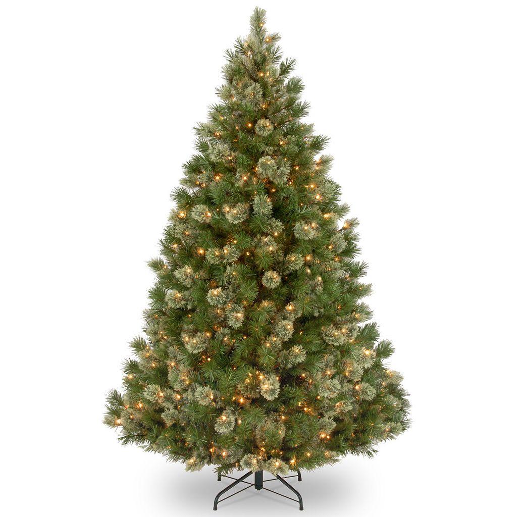 7.5-ft. Pre-Lit Wispy Willow Grande Artificial Christmas Tree