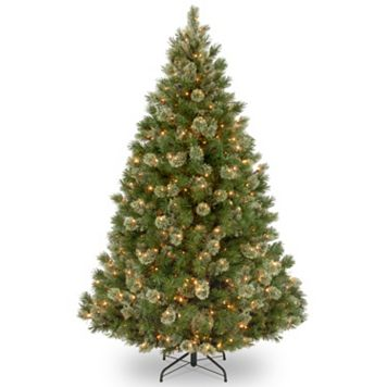7.5-ft. Pre-Lit Wispy Willow Grande Artificial Christmas Tree