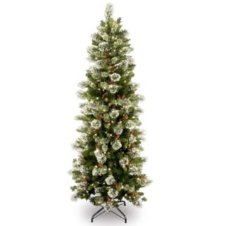 7.5-ft. Pre-Lit Wintry Pine Artificial Christmas Tree