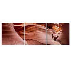 Trademark Fine Art ''Antelope Panorama Set'' 3 pc Wall Art Set