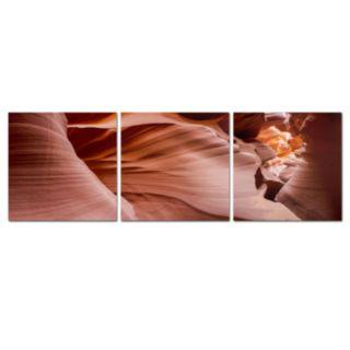 Trademark Fine Art ''Antelope Panorama Set'' 3-pc. Wall Art Set