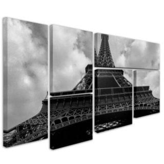 Trademark Fine Art ''Eiffel I'' 6-pc. Wall Art Set