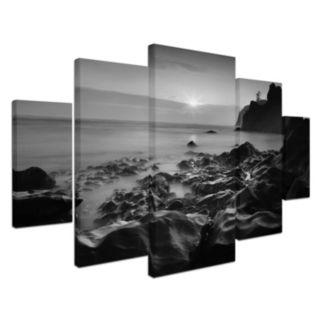 Trademark Fine Art ''Sunset At Ruby Beach'' 5-pc. Wall Art Set