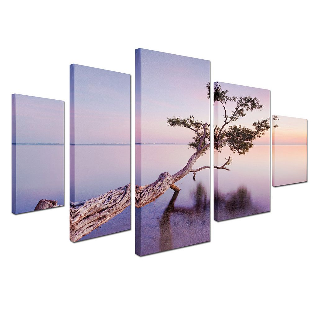 Trademark Fine Art ''Water Tree XV'' 5-pc. Wall Art Set