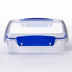 Sistema Sandwich Box To Go 15-oz. Food Storage Container