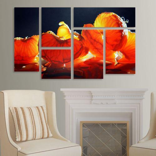 "Trademark Fine Art ""Mandarin Orange"" 6-pc. Wall Art Set"