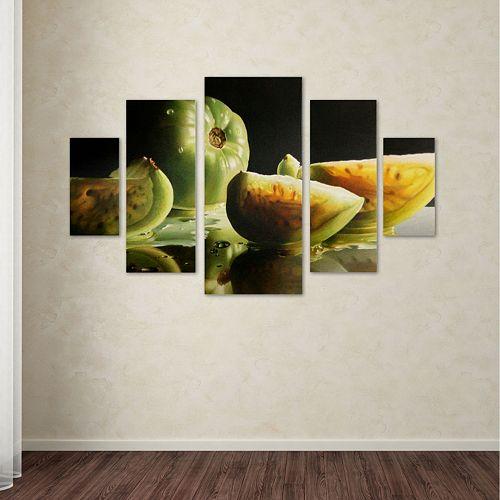 Trademark Fine Art ''Ripening'' 5-pc. Wall Art Set