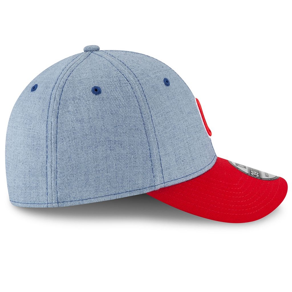 Adult New Era Chicago Cubs 39THIRTY Change Up Flex-Fit Cap