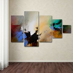 Trademark Fine Art ''Clouds Connected II'' 5-pc. Wall Art