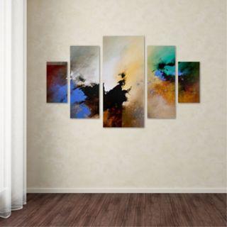 Trademark Fine Art ''Clouds Connected II'' 5-pc. Wall Art Set